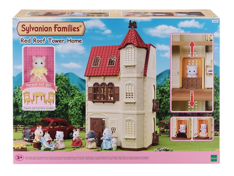 Red Roof Tower Home