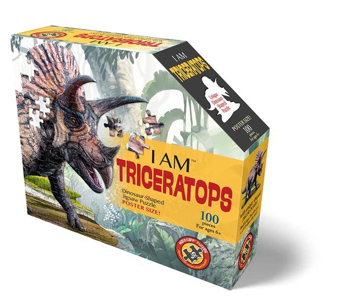 Shape Puzzle Junior Triceratops 100 T.