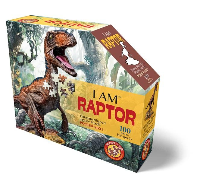 Shape Puzzle Junior Velociraptor 100 T.